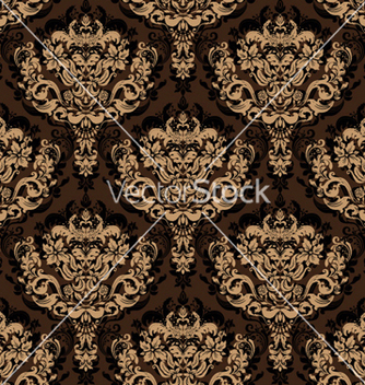 Free damask seamless background vector - Free vector #255501