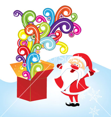 Free christmas greeting card vector - vector #255711 gratis