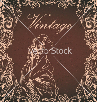 Free vintage background vector - Free vector #255991