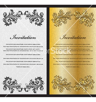 Free vintage banners set vector - Free vector #256081