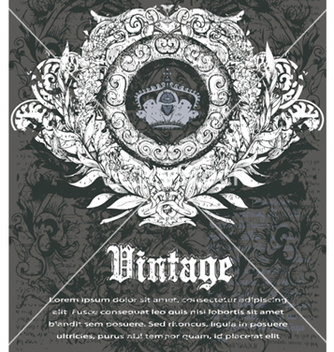 Free vintage background vector - Free vector #256151