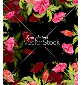 Free spring colorful floral background vector - vector #256291 gratis