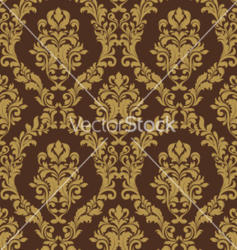 Free damask seamless pattern vector - Kostenloses vector #256961