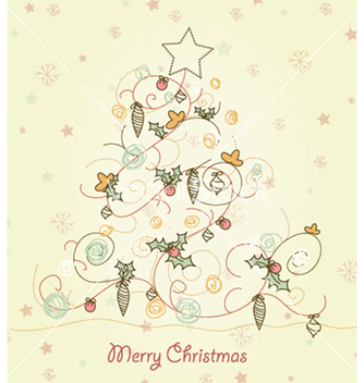Free christmas background vector - Free vector #257431