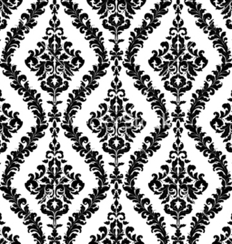 Free damask seamless pattern vector - Free vector #257481