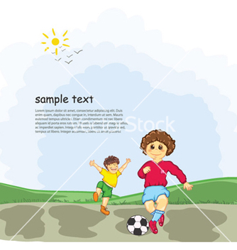 Free kids playing vector - Free vector #257601