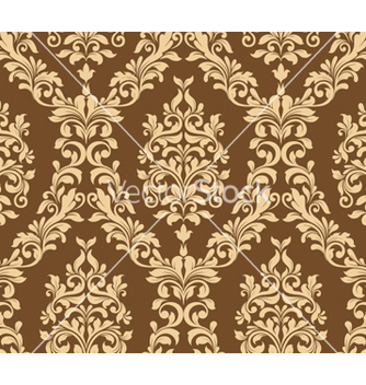 Free damask seamless pattern vector - Kostenloses vector #257641