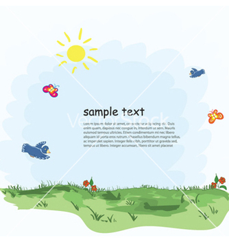 Free cartoon background vector - Free vector #258051