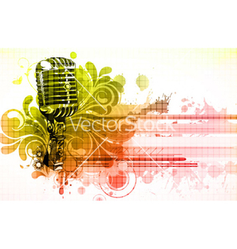 Free colorful concert poster vector - Free vector #258171