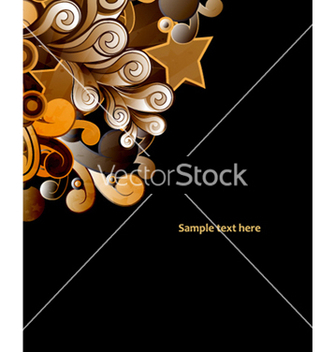 Free abstract background with colorful swirls vector - Free vector #258211