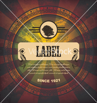 Free grunge label vector - бесплатный vector #258321