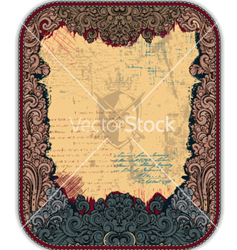 Free vintage frame vector - Free vector #258481