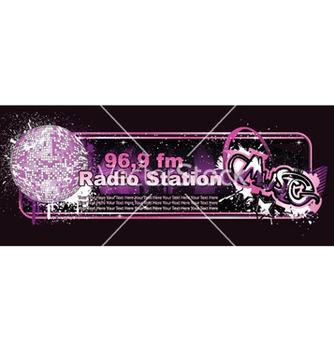 Free music banner vector - Kostenloses vector #259091