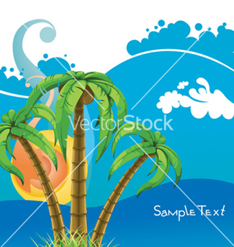Free abstract summer background vector - Free vector #259221