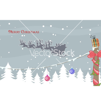 Free christmas greeting card vector - Free vector #259251