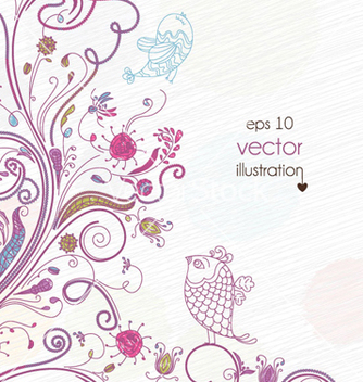 Free spring background vector - Free vector #259881
