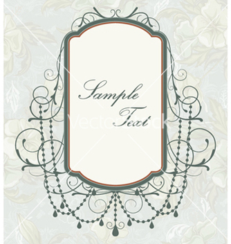 Free vintage frame vector - Free vector #260011