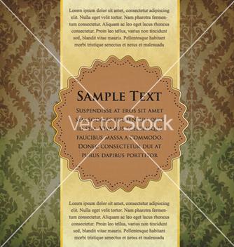 Free vintage label vector - Free vector #260101