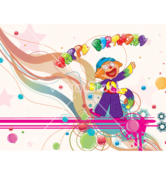 Free happy birthday vector - Kostenloses vector #260511