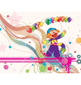 Free happy birthday vector - Kostenloses vector #260511