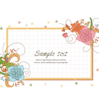 Free colorful frame vector - Free vector #260681