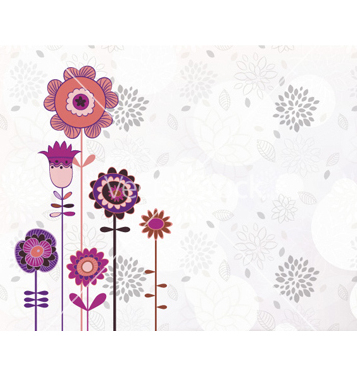 Free floral background vector - vector #260731 gratis