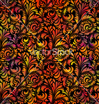 Free colorful floral seamless pattern vector - Free vector #260911