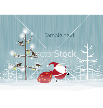Free christmas background vector - Free vector #261051