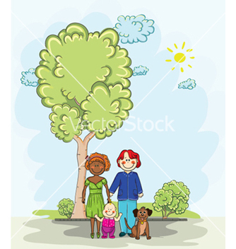 Free cartoon background vector - Kostenloses vector #261081