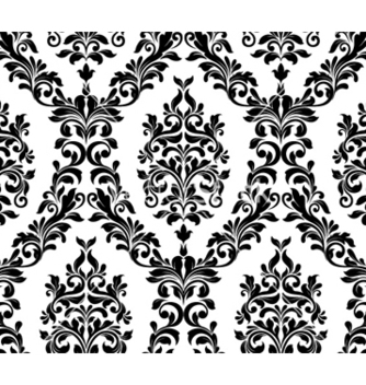 Free damask seamless pattern vector - Kostenloses vector #261091