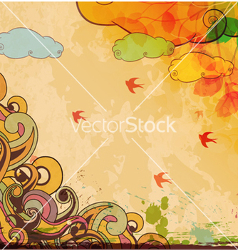 Free vintage background vector - Free vector #261351