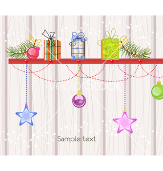 Free christmas background vector - Free vector #261481