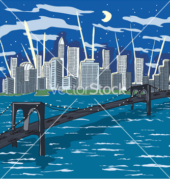 Free new york doodles vector - Free vector #261561