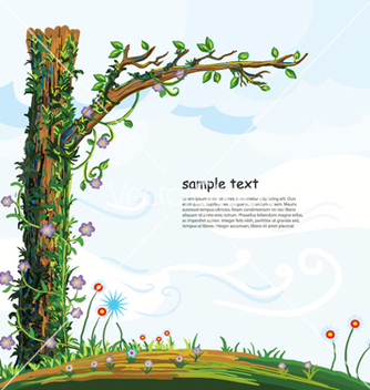 Free cartoon background vector - Free vector #261761