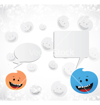 Free cute monsters vector - Free vector #261851