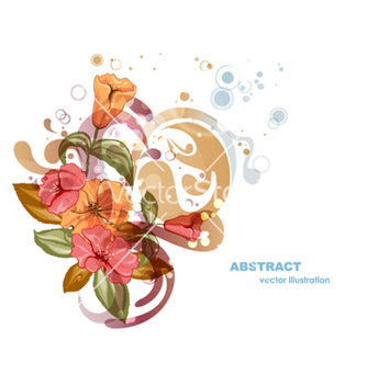 Free abstract colorful floral background vector - Free vector #262091