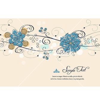Free colorful floral vector - Kostenloses vector #262121