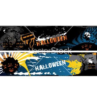 Free halloween banners vector - Free vector #262161