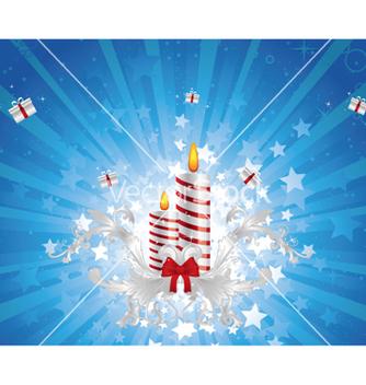 Free christmas greeting card vector - Free vector #262801