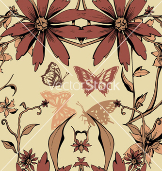 Free retro seamless pattern vector - Free vector #263041