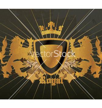 Free vintage gold emblem vector - Free vector #263311