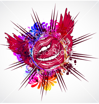 Free colorful abstract vector - Free vector #263441
