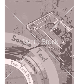 Free vintage music poster vector - Kostenloses vector #263701