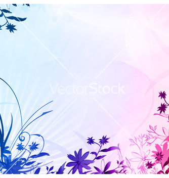 Free abstract colorful floral background vector - Free vector #263831