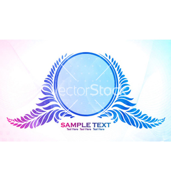 Free colorful floral frame vector - Free vector #264081