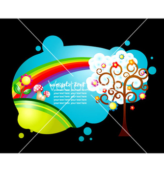 Free colorful abstract vector - Free vector #264261
