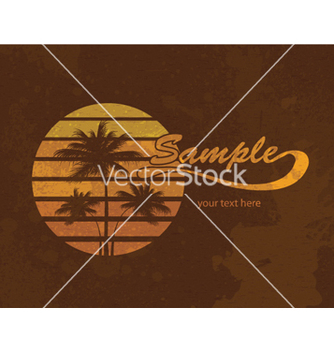 Free grunge summer vector - Free vector #264341