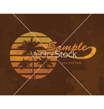 Free grunge summer vector - Kostenloses vector #264341