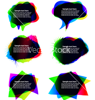 Free chat bubbles vector - бесплатный vector #264471
