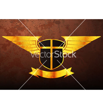 Free vintage gold emblem vector - Free vector #264531